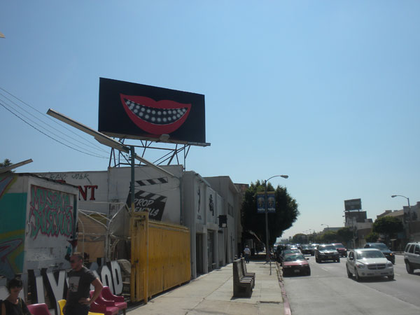 Sanford Biggers' Billboard