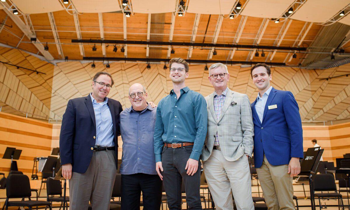 Composer David 'Clay' Mettens wins 2021 Hermitage Prize in Aspen