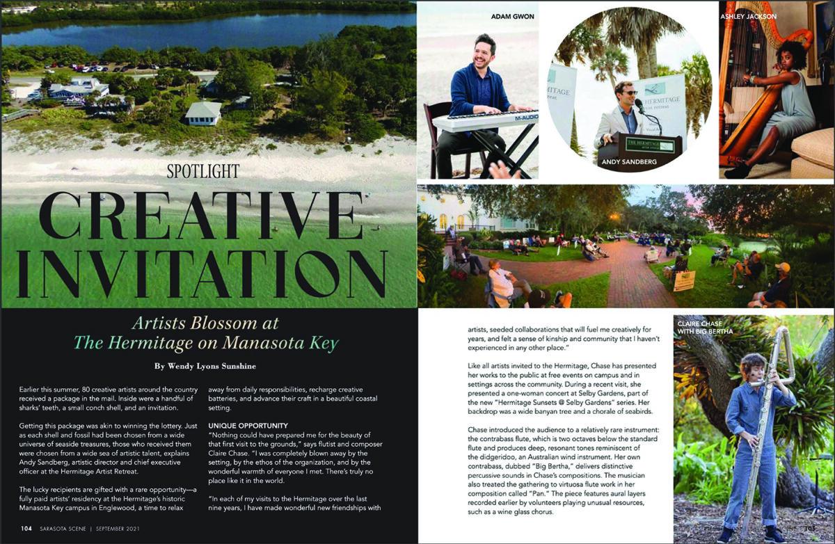 Sarasota Scene Spotlight: Artists Blossom at the Hermitage